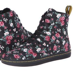 Dr. Martens Hackney Floral Canvas Boots